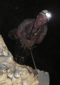 Pipp Caving On Rope